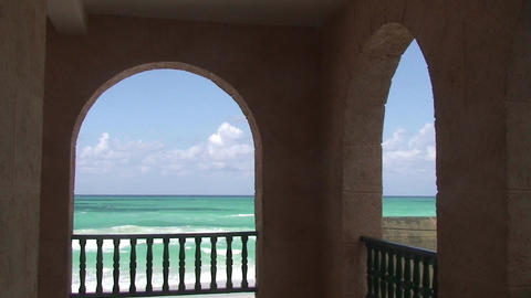 Varadero Beachview 2 Stock Video Footage