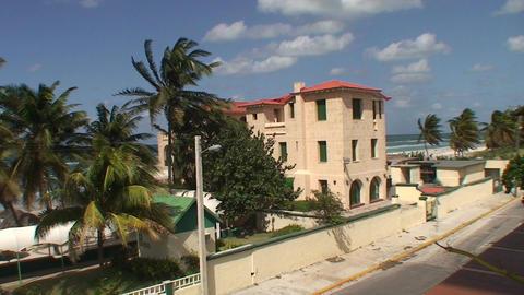 Varadero Hotel los Delfines beach 2 Stock Video Footage