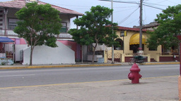 Varadero oldtimers passing by on the street Stock Video Footage