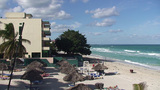 Varadero relaxing at the beach 7 Footage