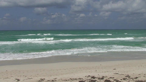 Varadero sea and beach 2 Stock Video Footage