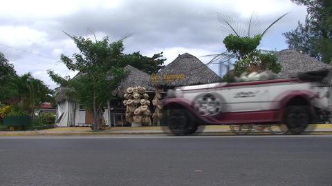 Varadero Streetview with souvenirshop Footage