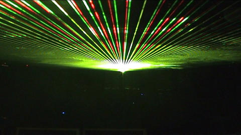 Laser 8 Stock Video Footage