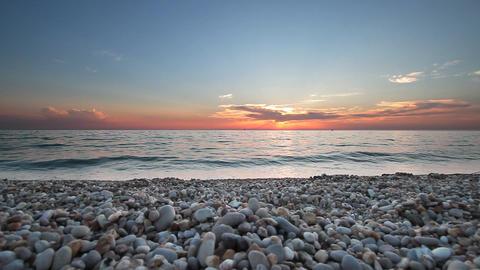 Beach stones Footage