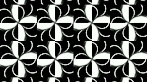 flower mosaics pattern background,music stage backgrounda Animation