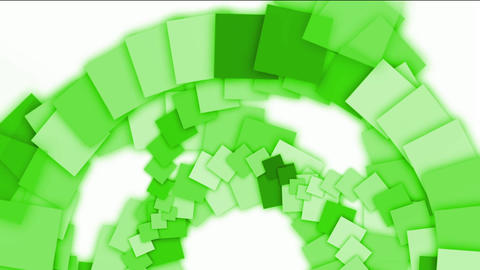 green square paper arch,computer tech web background Animation