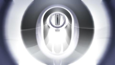 Tunnel tube metal C 01e HD Stock Video Footage