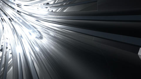Tunnel tube metal C 02c 2 HD Animation