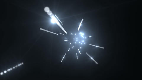 Tunnel tube Particle AA 01 HD Stock Video Footage