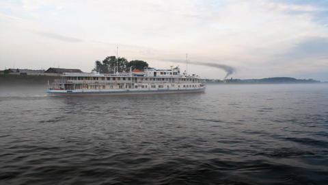 Passenger ship Stock Video Footage