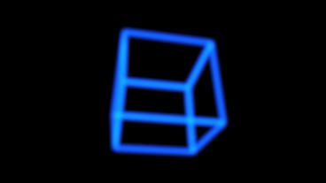 rotation frame cube bottom,tech web virtual background Animation