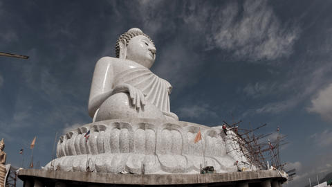 Big Buddha Stock Video Footage