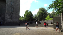 Bunratty Castle 1 Stock Video Footage