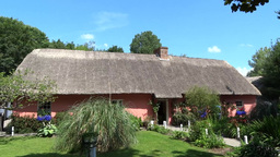 Bunratty Folkpark 12 Stock Video Footage