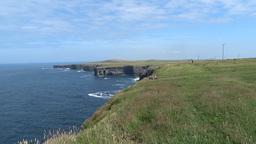 Clare Coastline 1 Stock Video Footage