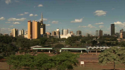 Buildings in Nairobi Footage