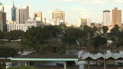Skyline Nairobi Stock Video Footage