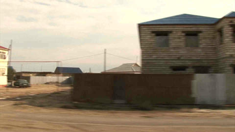 Town Driving From Car Kazakhstan Stock Video Footage