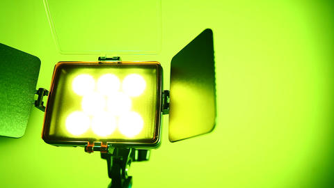 Video Light Stock Video Footage