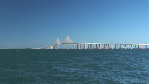 Sunshine Skyway Bridge Footage