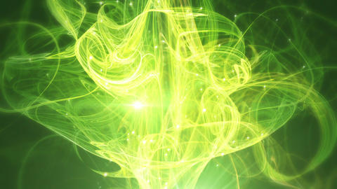 CassandraGreen - Elegant Green Abstract Lights Vid Stock Video Footage