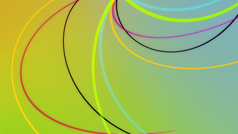 Tentaculum3 - Abstract Colorful Tentacles Video Ba Stock Video Footage