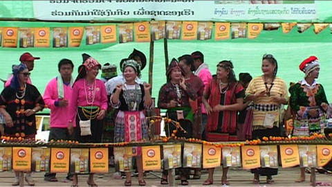Boat race (suang heua) for Bun Nam Footage