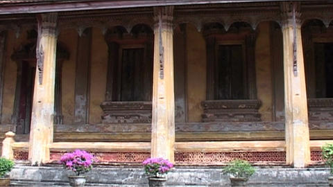 Wat Si Saket temple Stock Video Footage