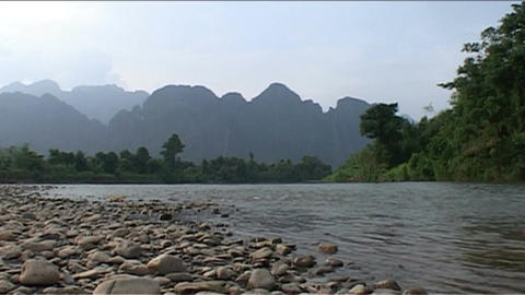 Nam Xong river Footage