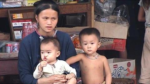 Lenten woman Stock Video Footage