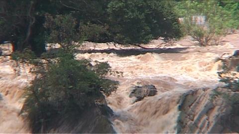 Phapeng waterfall Stock Video Footage