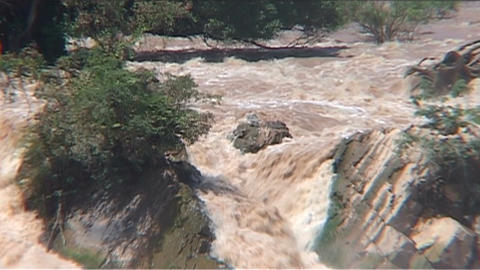 Phapeng waterfall Stock Video Footage