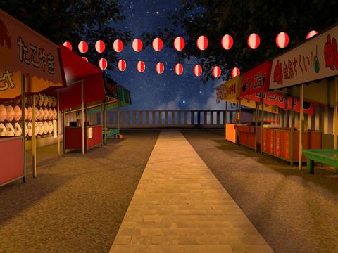 Fair&Fireworks お祭りと花火 Animation