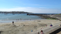 Kilkee Beach 1 Stock Video Footage