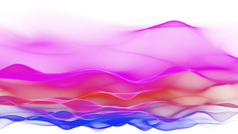 abstract soft wave background, colorful waves Stock Video Footage