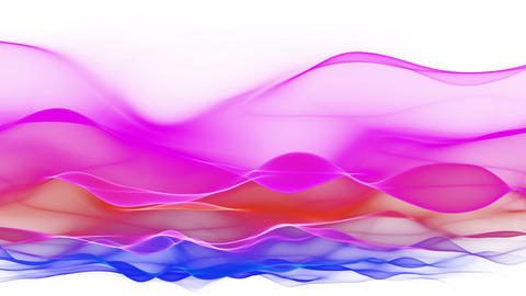 abstract soft wave background, colorful waves Animation