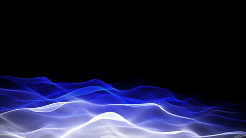 abstract soft wave background, lower thirds Stock Video Footage