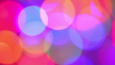 abstract background - defocused lights Stock Video Footage