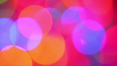 abstract colorful background - defocused lights Footage