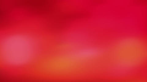 blurred lights - red abstract background Stock Video Footage
