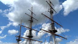 Dunbrody Famine Ship 2 Stock Video Footage
