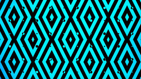 blue color square pattern Stock Video Footage