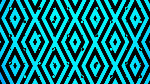 Blue Color Square Pattern stock footage