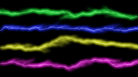 electric color gate Animation