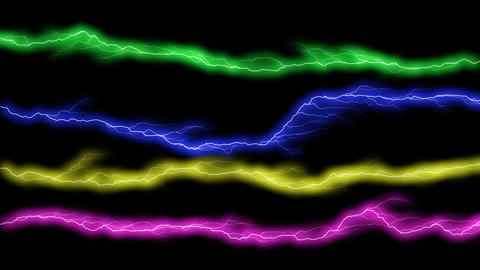 electric color gate Stock Video Footage
