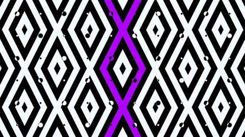 music square pattern Animation