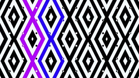 music square pattern Stock Video Footage