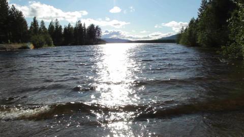 Sunny Lake Footage