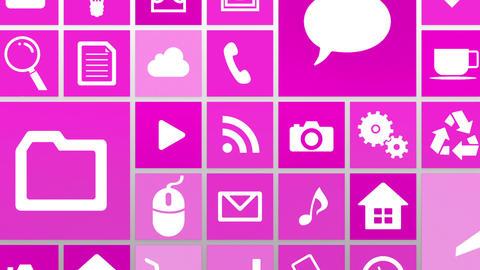 Smart Phone apps G Gw 4 HD Stock Video Footage