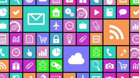 Smart Phone apps G Jb 4 HD Stock Video Footage